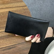 DORANMI Genuine Leather Women Long Wallets 2018 Fashion Cow Leather Money Bag Purses Bag Card Holding Wallet High Quality PJ033