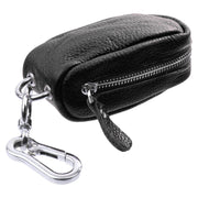 FGGS Car Key Bag Household Key Bag Unisex Zipper Bag In PU Leather For Keychain Case For Key / USB / Pieces / Coin
