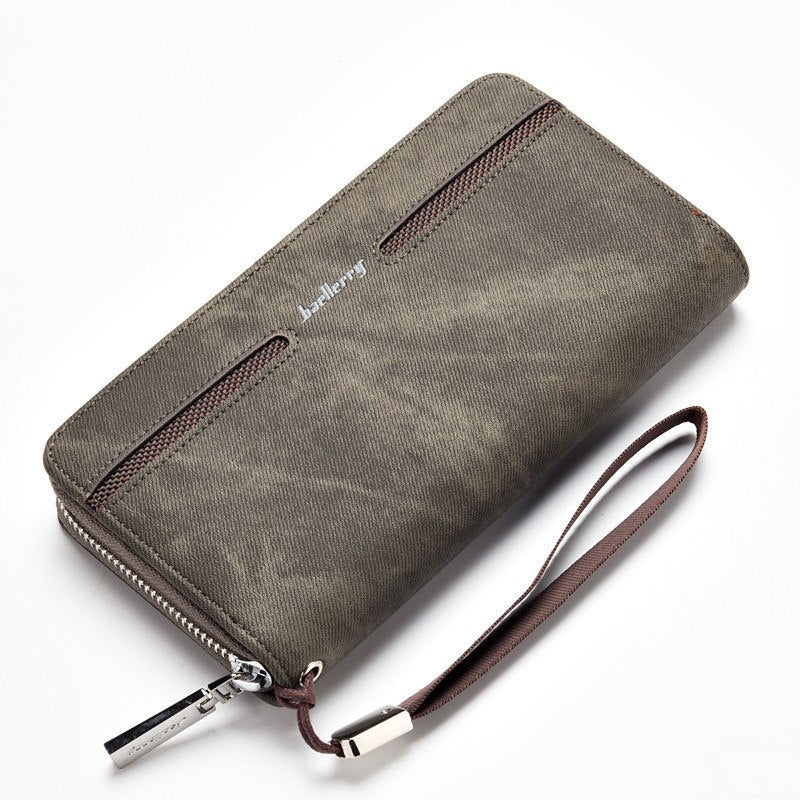 I Come Credit Card With Zipper Wallet Business Casual Hand Wallet