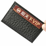 Fashion Women Men Leather Wallet Clutch Card Holder Purse Zero Wallet Key Bag 40#