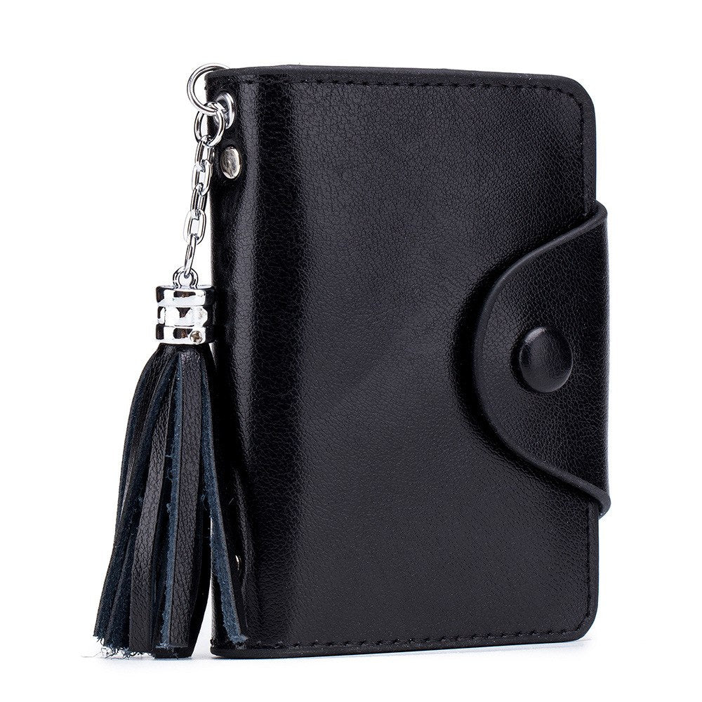Credit Card Holder Men Cardholder Split Leather Business Women