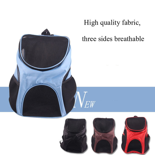 Foldable Pet Travel Backpack Out Carrying Bag Cat Dog House Cave Pet Chest Backpack Puppy Product With A Pills And Garbag Free