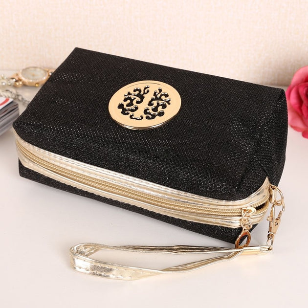 d3ef380463 Glitter Travel Cosmetic Bag Women Fashion Multifunction Makeup Pouch  Toiletry