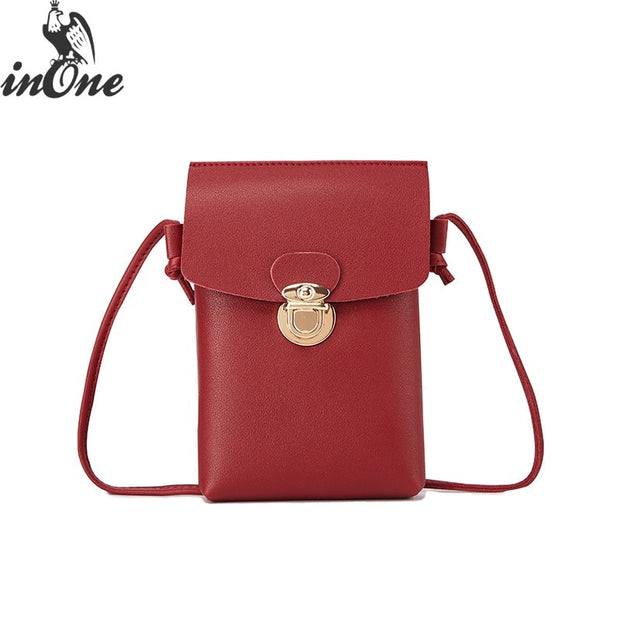 INONE Wallet Cell Phone Case Cover Holder Shoulder Crossbody Mini Cute Bags For Women 2019 For IPhone XS MAX XR X 6S 6 8 7 Plus