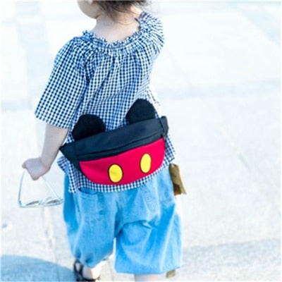 d99cd04487dc Kids Style Waist Bags Mouse Bowknot Fanny Pack Women Chest Bags Young Girls  Crossbody Shoulder Bum Hip Pouch Bags