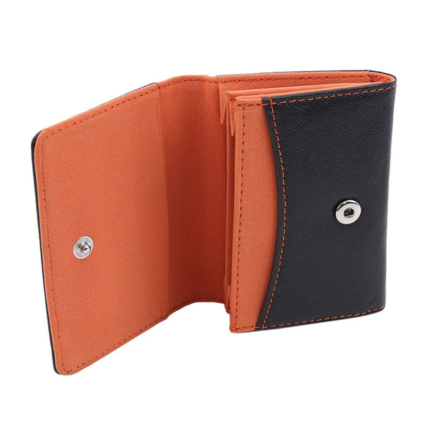 Leather Wallets Men Card Holder Minimalist Coins Holders For Men Hasp Purse Billetera Portemonnee