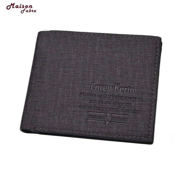 Man Synthetic Leather PU Wallet Men Pocket Credit Card Clutch Bifold Purse Wallet For Credit Cards