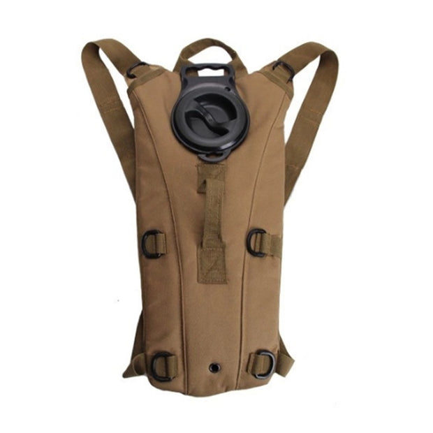 Men Nylon Backpack Water Bags Motorcycle Riding Liner Casual Knapsack High Quality Daypack Military Assault Rucksack Kettle Bag
