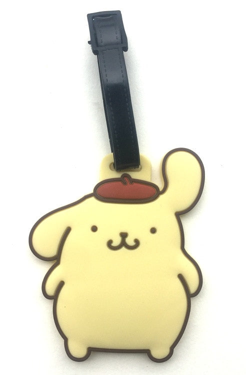 Midian Dog Dog Puddings PomPom Purin Cloth Luggage Check Luggage Tags Hang Act The Role Of Check Card