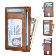 Mini Slim Brand New Style Wallet Credit Card Holder Women Men Mini Wallet ID Case High Quality