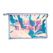 Miyahouse Fashion Laser Makeup Bags Women Waterproof Cosmetic Bag PVC Storage Pouch Female Travel Beauty Case