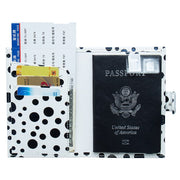 New Travel Designer Pu Passport Cover Women Cute Slim Passports Credit Card Holder Case License Ticket Wallet Document Organizer