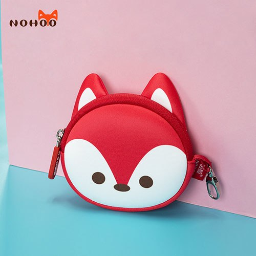 12 PACK Red Small Zip Bag Mini Miscellaneous Coin Pouch Keychain Key Chain