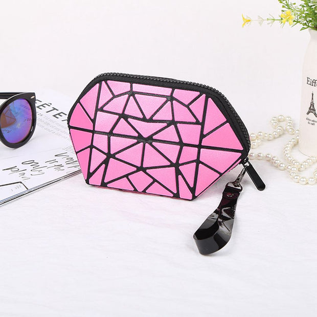 Novelty Scrub Make Up Bag Beauty Travel Women Cosmetic Bags Portable Fold Travel Toiletry Kit Neceser Zipper Organizer Case