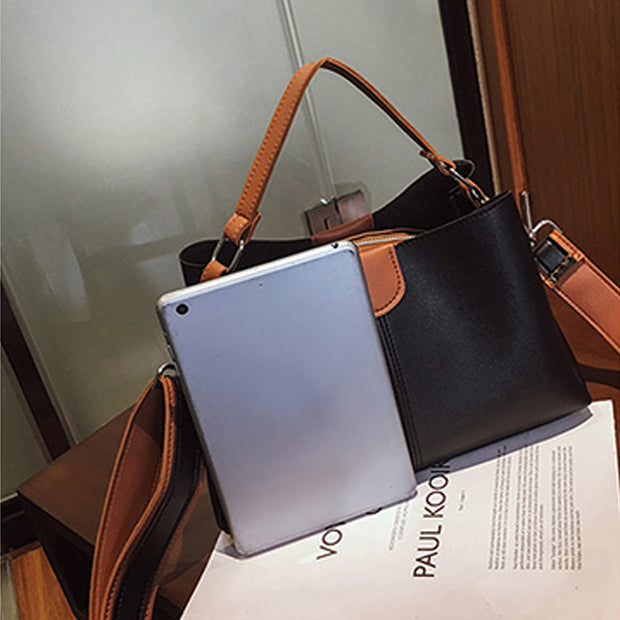 Sac A Main Femme Shoulder Crossbody Bags For Women Messenger Leather Bag Vintage Handbags Bolsos Mujer De Marca Famosa 2018