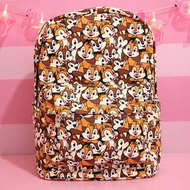 "Super Quality Chip 'n' Dale Squirrel 15"" Zipper Backpack Shoulder Bag Mochila Bag School Bag Unisex Fashion Bags Anime Gift"