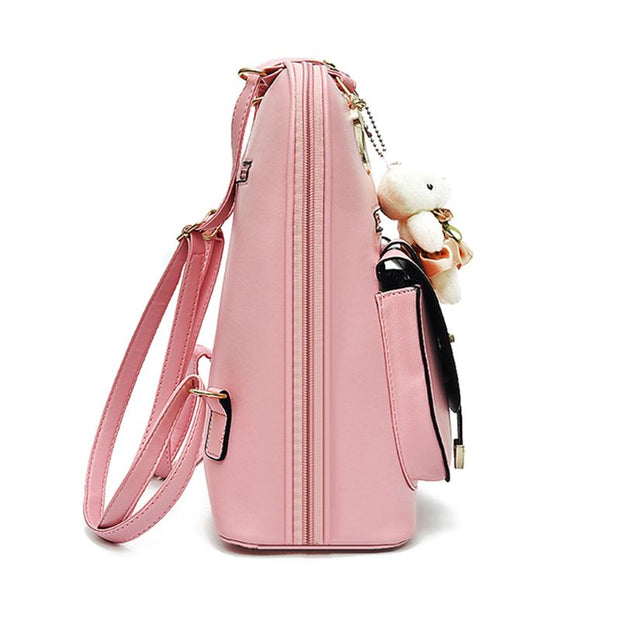 THINKTHENDO Fashion Women Girls Small Backpacks Lady Female Multifunction Mini Travel Rucksack Shoulder School Bag New Hot 2018