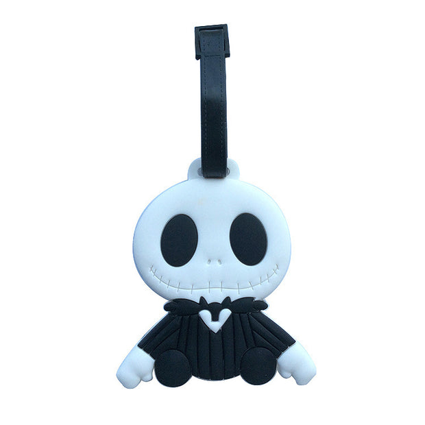The Nightmare Before Christmas Jack Luggage Tag Boarding Check Card Identification Card Luggage Tags Hang Decorations
