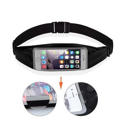 Waist Bag Pouch Belt + Earphones For IPhone 6S Plus Samsung S7 LXX9