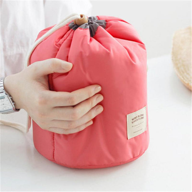 Waterproof Portable Travel Bag Makeup Storage Big Capacity Drawstring Pouch Cosmetic Bags Pocket Oxford Cloth Travel Organizer