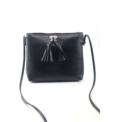 Women Fashion Tassel Handbag Shoulder Bag Small Tote Ladies Purse
