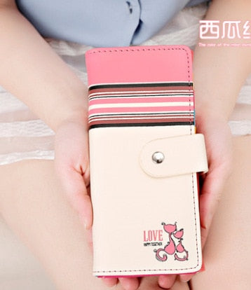Women Wallet Clutch 2019 New Hasp Leather Wallets Female Long Wallet Women Panelled Purse Zipper Money Bag For Mobile Phone Bag