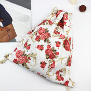 New Fashion Backpack 3D Printing Travel Softback Man Women Flower Drawstring Rucksack Beach Bag Men Women Canvas Backpacks