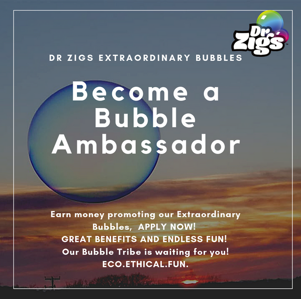 Become one of our Bubble Brand Ambassadors!  (SCROLL DOWN FOR BUBBLE AFFILIATE PROGRAM)