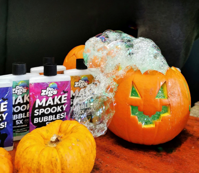 How to make a Bubble Pumpkin!