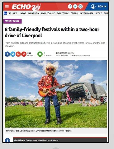 Dr Zigs at Kendal Calling - Liverpool Echo