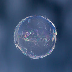 frozen bubble, ice, collapsing bubble, ice crystals, outdoor bubbles