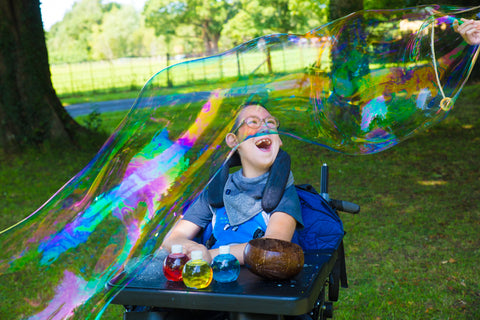 dr zigs bubbles and wheelchair and pmld