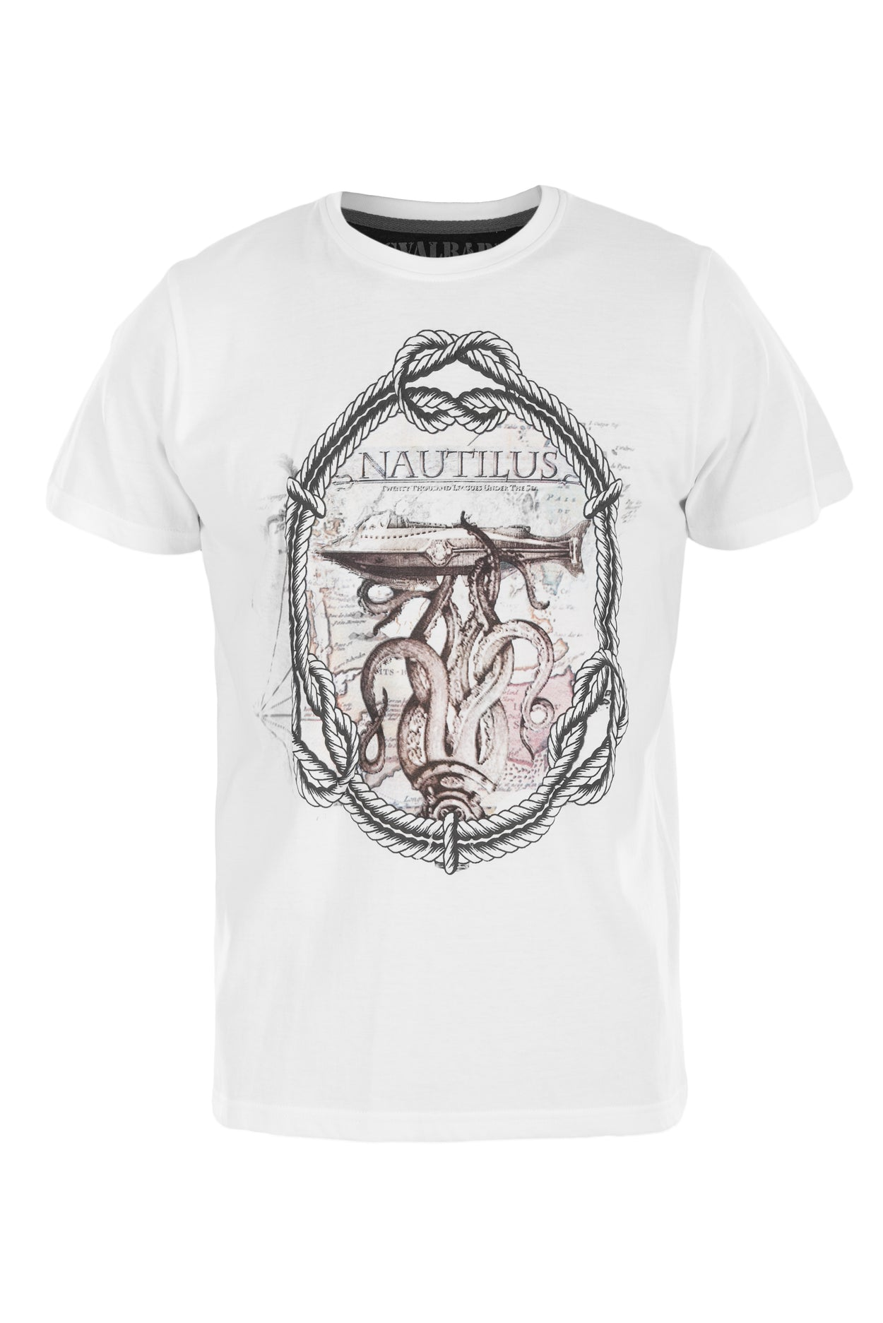 T-shirt Nautilus - White