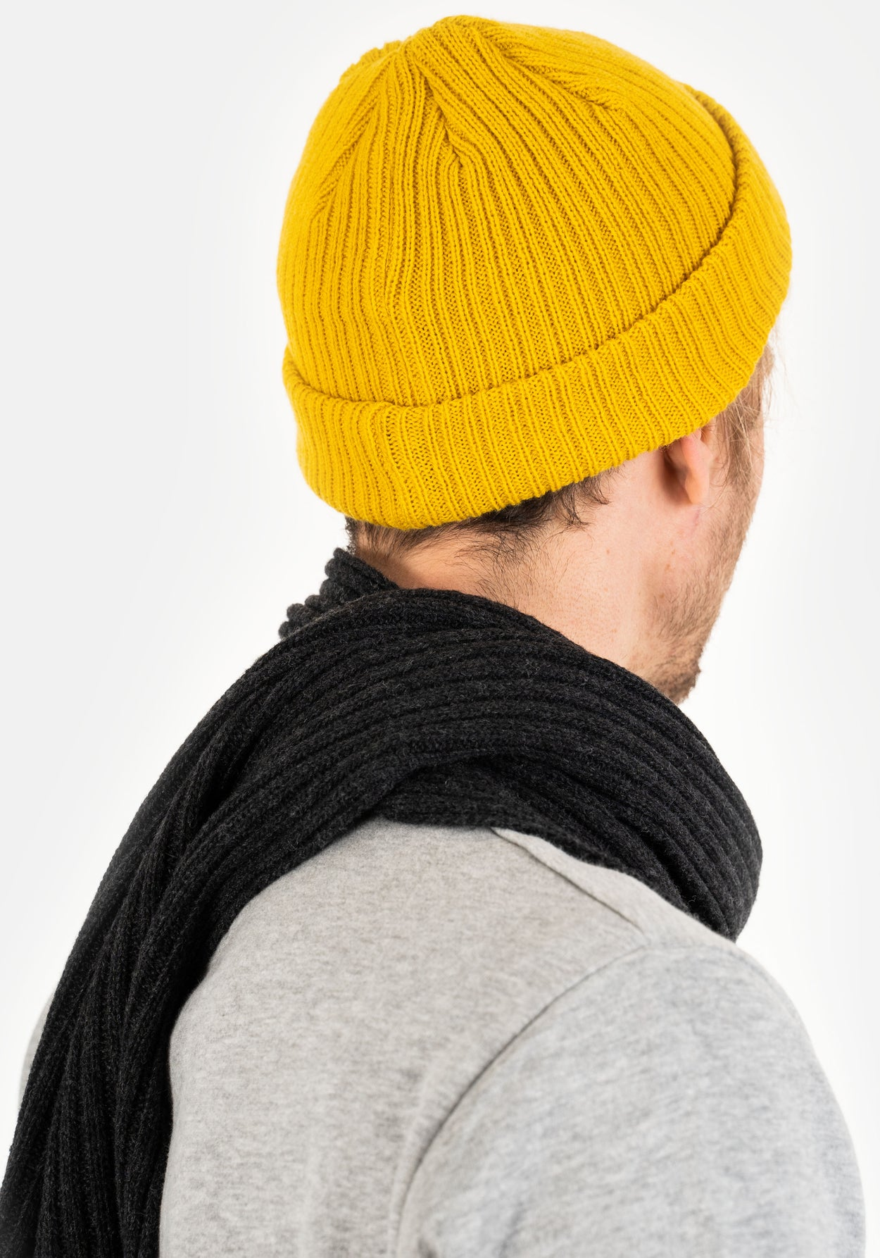 Docker Beanie - Yellow