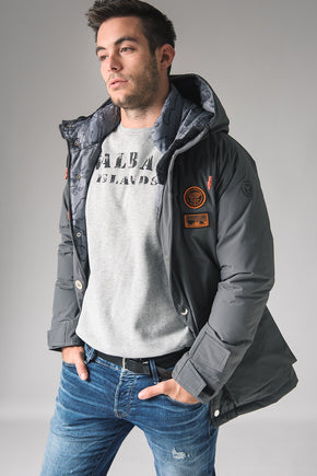 Parka Nobile L N1 - Lead Grey