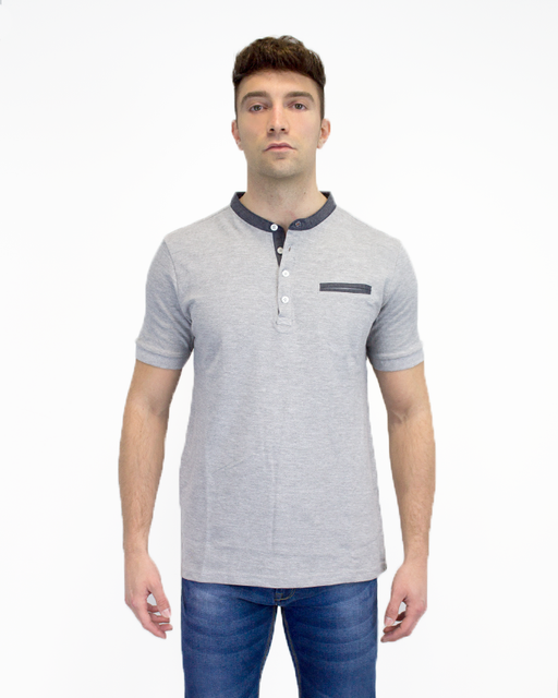 Polo Peking - Melange Grey