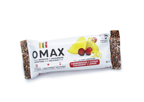 Barres Nutritives OMAX pour hiking