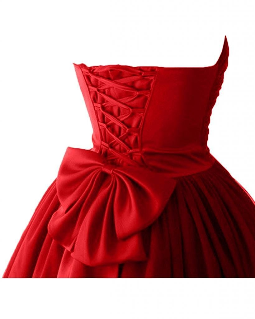 Ball Gown Sweetheart Cocktail Dresses Homecoming Dresses SSM230