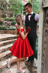 Cute Off the Shoulder Short Dark Teal Sweetheart Homecoming Dress Short Prom Dresses H1208