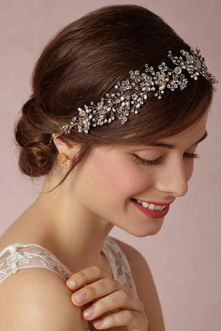 Classic Alloy/Rhinestones Ladies' Hair Jewelry JS0028