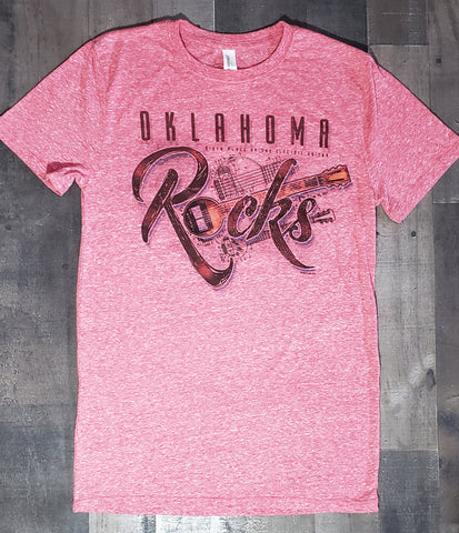 Oklahoma Rocks/Birthplace of the Electric Guitar on Red