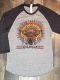 Buffalo Headress 3/4 Sleeve