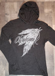 Feather T-shirt Hoodie