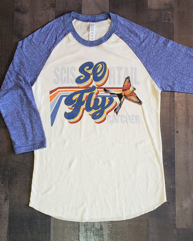 So Fly 3/4 Sleeve