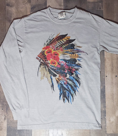 Oklahoma Headdress Long Sleeve