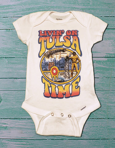 Baby Onsie Livin on Tulsa Time
