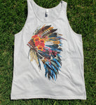 Tank Top Indian headdress