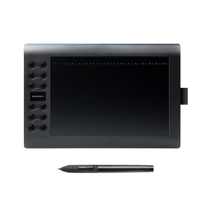 Professional 10 Inches Graphic Tablet for Drawing with USB Art Digital Tablet
