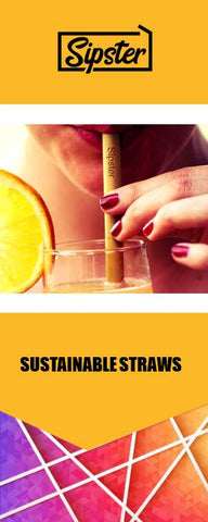 Subscription Sustainable Sipster Straws - Sipster.nl