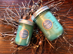 Blue Spruce in an Iconic Mason Jar